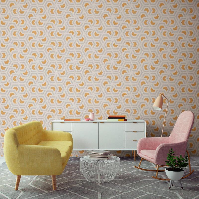 wallpaper linen 367602