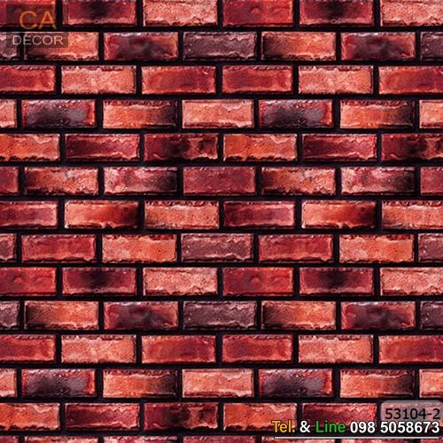 วอลเปเปอร์ลายอิฐคอนกรีตสีแดง_53104-2